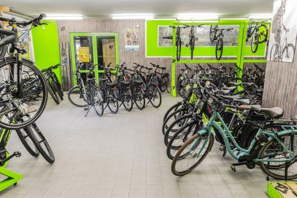 Innenansicht A7 Bikestore Uttrichshausen